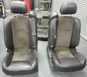Cadillac Cts v Front Rear Seats Complete Set V1 04 07 Ls6 Ls2 6 Speed Manual