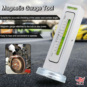 New Truck Car Camber Castor Strut Wheel Alignment Magnetic Gauge Tool Kit H0j3