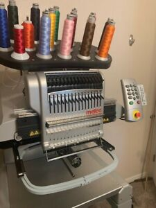 Melco Commercial Embroidery Machine Emt 16 Plus