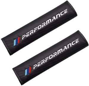 Bmw M Performance Carbon Fiber Belt Cover Car Seat Cover Belt Pads For Bmw