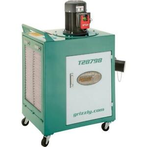 Grizzly T28798 1 1 2 Hp Metal Dust Collector
