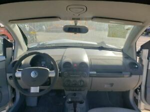 Rear View Mirror With Digital Clock Fits 02 05 Beetle 590366