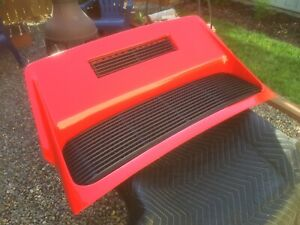 Early Porsche 911 Whale Tail Deck Lid