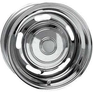 4 awc 62 Rally 14x7 4x108 4x4 5 6mm Chrome Wheels Rims 14 Inch
