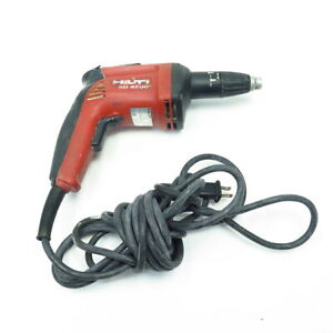 Hilti Drywall Screw Gun Drill Driver Sd4500 6 5 Amp Corded Red