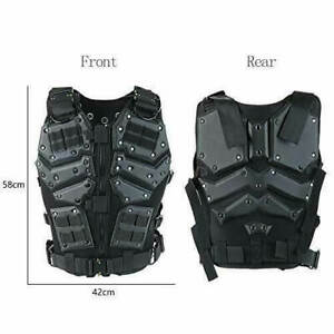 ActionUnion Airsoft Tactical Vest Military Costume Molle Chest Protectors Gilet $75.99