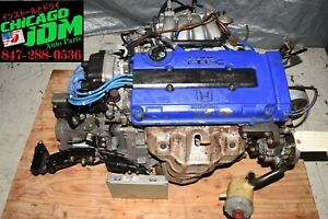 Jdm 1994 2001 Acura Integra Dc2 B18c 1 8l Gsr Engine 5 Speed Manual Trans Ecu
