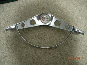 1958 1960 Chevrolet Bel Air Impala Steering Wheel Horn Ring With Emblem