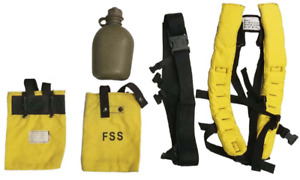 New Fss Firefighter Wildland Web Gear Belt Pack Canteen hunting Camping Hiking