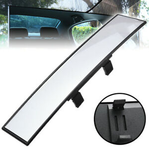 Universal Car Rear View Mirror Panoramic Wide Angle Mirror Clip On Safety