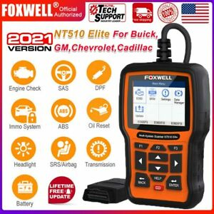 For Gm Obd2 Code Reader Full System Bi directional Abs Dpf Diagnostic Scanner