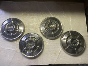 Ford Falcon Hubcaps Dog Dish 1964