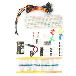 Electronic Components Kit Electronic Component Assortment 830 Tie Points N0a4