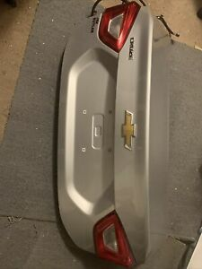 Oem 2016 2019 Chevy Cruze Trunk Tailgate Deck Lid Completely Silver Excellent