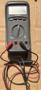 Great Shape Blue point By Snap on Multimeter Mtind153 With Leads