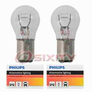 2 Pc Philips Front Turn Signal Light Bulbs For Pontiac Acadian Bonneville Rm