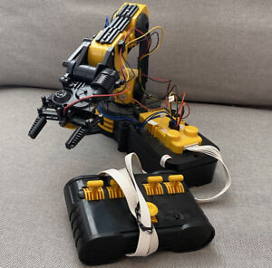 Owi 535 Robotic Arm Edge Wired Control Robotic Arm Kit Learning Tool Yellow