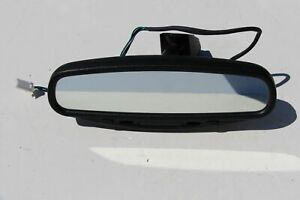05 09 Subaru Outback Legacy Rearview Mirror Compass Auto Dim W Harness Oem