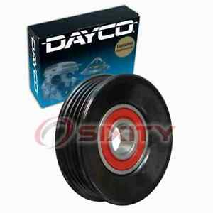 Dayco Ac Drive Belt Idler Pulley For 1998 Mitsubishi 3000gt Engine Bearing Df