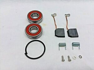 Oldsmobile Generator Repair Rebuild Kit Delco 2 Brush With Double Ball Bearings
