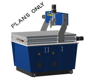 Cnc Maxi Router Table Milling Drilling And Engraving Diy Plans Only