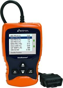 Actron Cp9670 Autoscanner Trilingual Obd Ii Can And Abs Scan Tool With