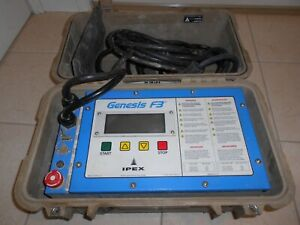 Ipex Genesis F3 Electrofusion Machine Central Kerotest Friatec Mcelroy Fusion