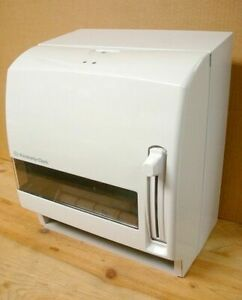White Kimberly Clark Lev r matic Roll Towel Dispenser 09707 Old Stock By Scott