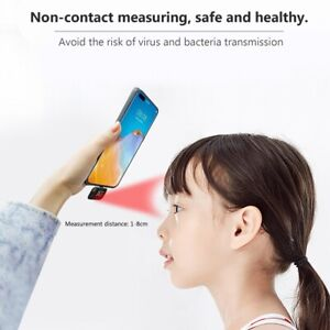 Usb Led Mini Smart Android Type c Thermometer Non contact Infrared Meter Phone