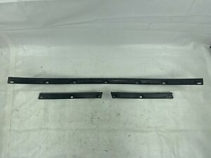1990 2005 Mazda Miata Mx5 Oem Soft Top Rain Rail Guard Carpet Bracket Set 90 05