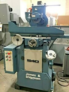 Used Jones And Shipman 540 Automatic Reciprocating Surface Grinder Cnc Machine