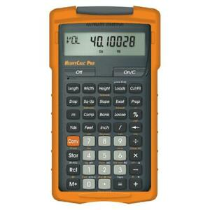 Calculated Industries 4325 Construction Master Heavycalc Pro Advanced Yard F
