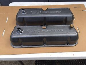 Ford Racing Small Block 302 Cas Aluminum Valve Covers