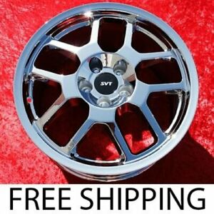 Exchange Set Of 4 Chrome 18 Ford Mustang Shelby Gt500 Oem Wheels Rims 3668