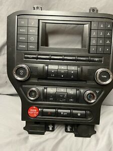 15 16 17 Ford Mustang Radio Control Panel Bezel With Gt350 Start Button