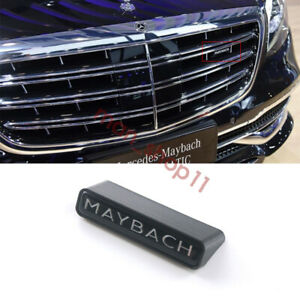 W222 Maybach Style Logo Badge Front Grille For Mercedes S Class S450 S600 S680