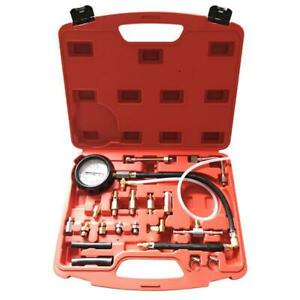 140 Psi Fuel Injection Pump Pressure Tester Gauge Kits Mix Color