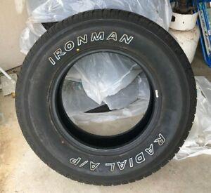 Set Of 4 Like New 265 70r17 Ironman Radial Ap 265 70 17 Tires A P