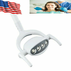 Useful Dental 4 Led Lamp Oral Cold Light Lamp For Dental Chair Unit 15w Us Ce