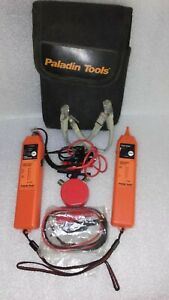 Paladin 1573 Tone probe Cable Tracer generator W Stopwatch New Cable Set used