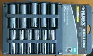 Husky Metric Deep Socket Set 1 2 Drive