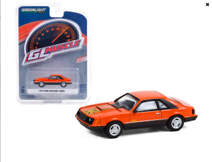 1979 Ford Mustang Cobra Tangerine Gl Muscle 24 Greenlight Die cast 1 64