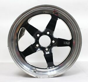 Weld Racing Rt s S71 17 Forged Aluminum Wheel Wall Art Hose Pipe Reel Damaged