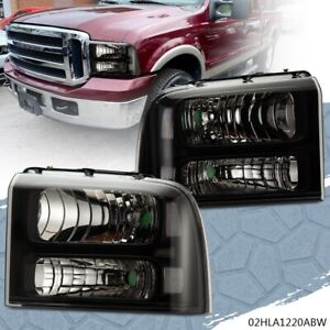 Headlights For 2005 2007 Ford F250 F350 F450 F550 Super Duty 05 06 07 Headlamps
