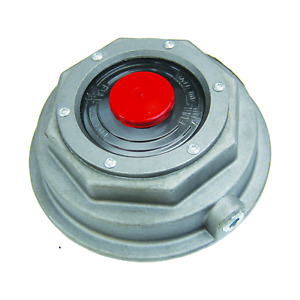 Fortpro Threaded Aluminum Trailer Axle Hub Cap With Gasket Replacement For Stemco