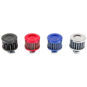 12mm Mini Cold Air Intake Filter Turbo Vent Crankcase Cars Breather Valve Cover