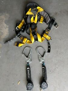 Guardian Fall Protection Harness Size S m With 2x Falltech Duratech Mini 6 Srl