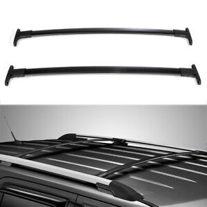 Top Roof Rack Cross Bars Luggage Carrier Aluminum Fits 2016 2019 Ford Explorer