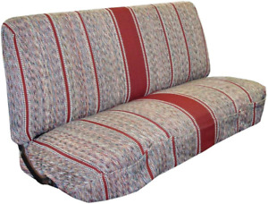 Truck Bench Seat Cover Saddle Blanket Burgundy 1pc Full Size Ford Chevy Dodge