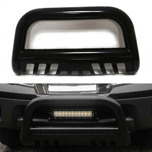 3 Bull Bar Push Bumper Grille Guard Black For Nissan Frontier Pathfinder 05 19